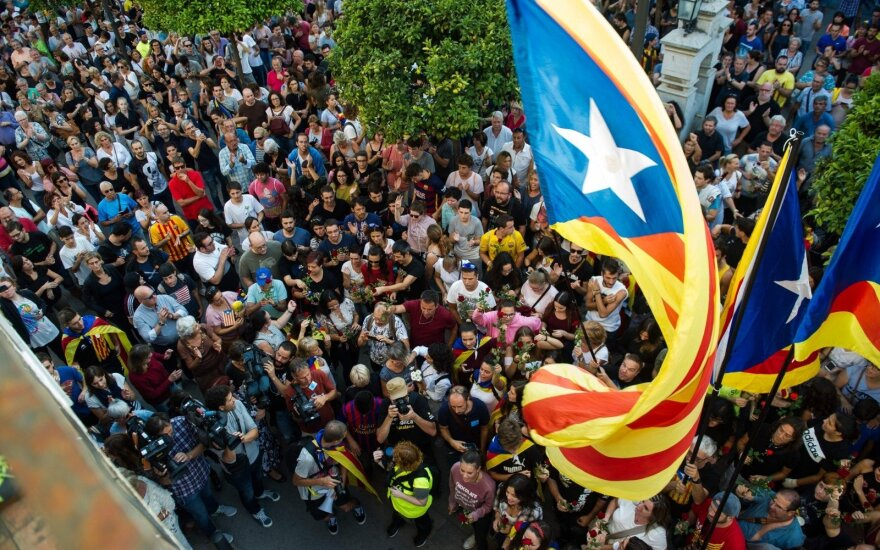 Strike in Catalonia