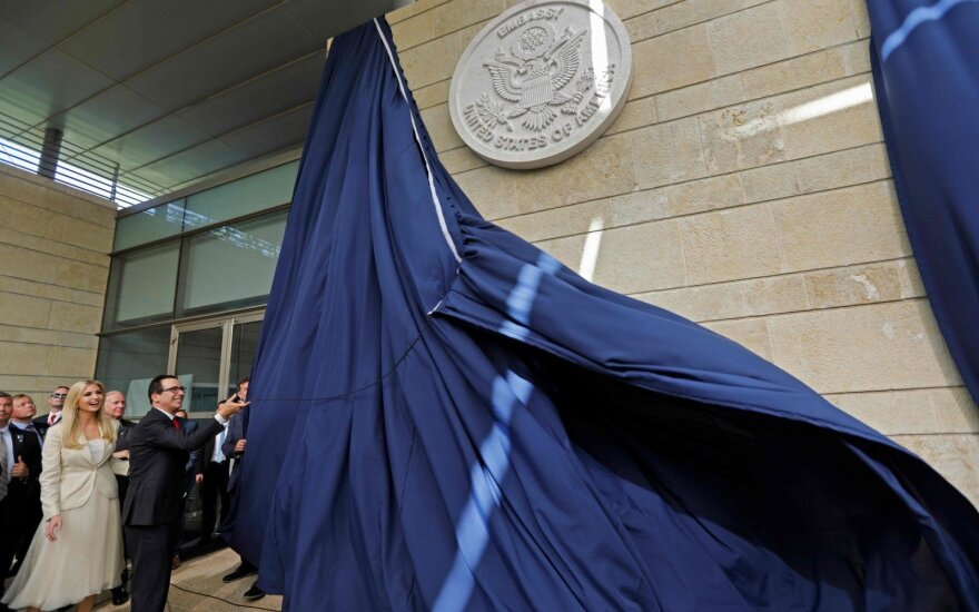 The USA embassy opening in Jerusalem