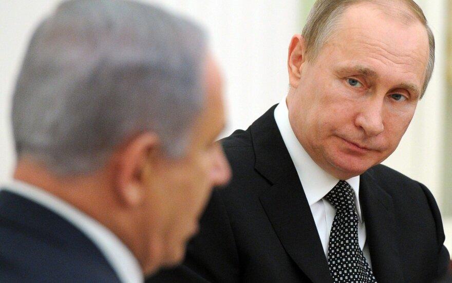 Vladimiras Putinas, Benjaminas Netanyahu