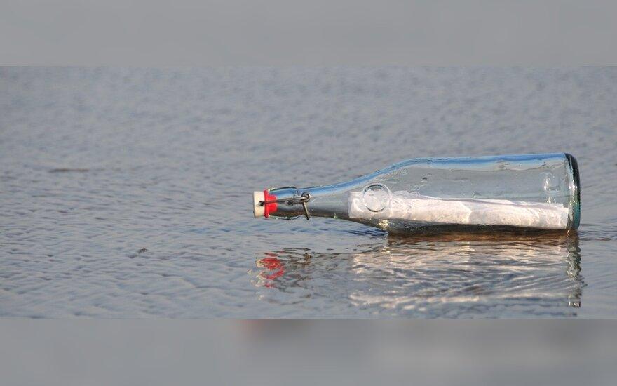 Vokietijoje žinutė butelyje keliavo net 31 metus