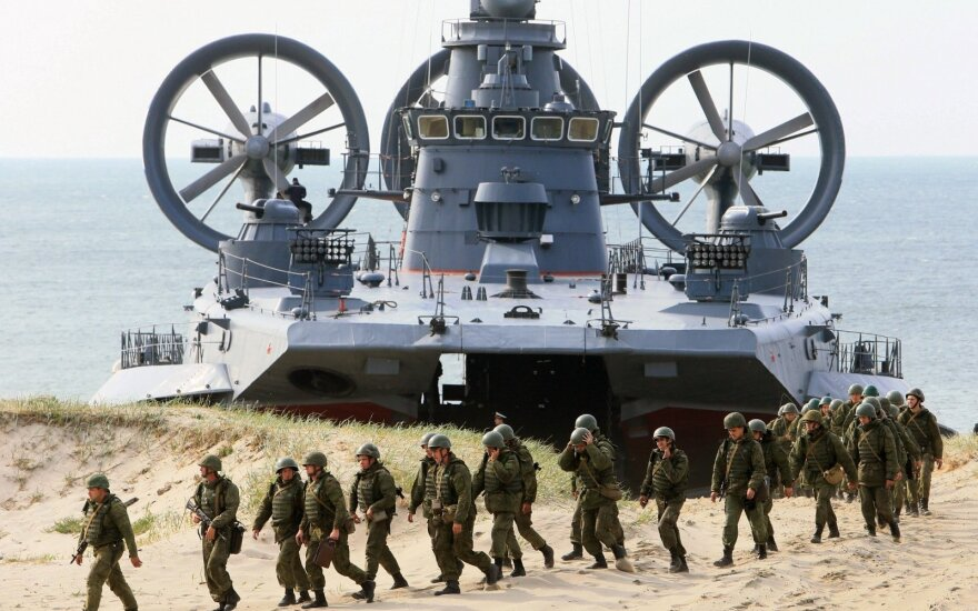 """Rusijos ir Baltarusijos karinės pratybos """"Zapad 2013"""""""