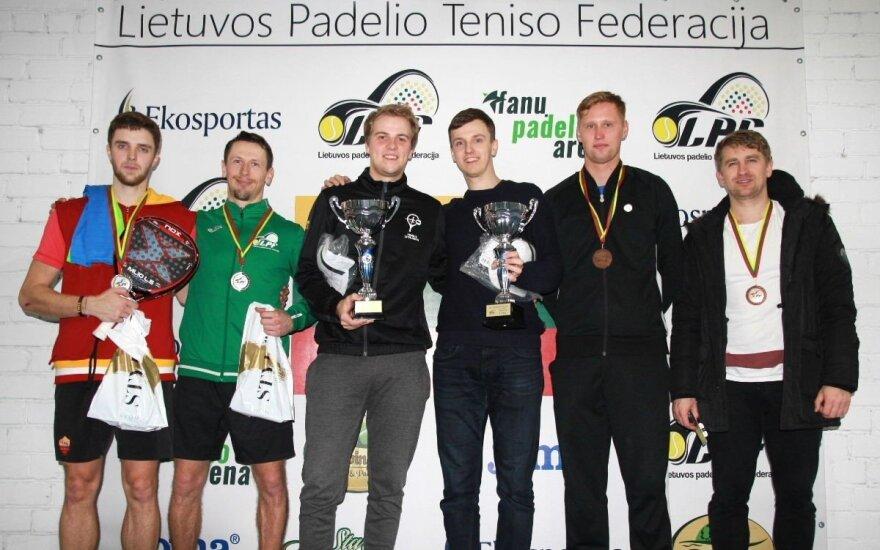 Padelio turnyro finalininkai (Z. Grigonienės nuotr.)