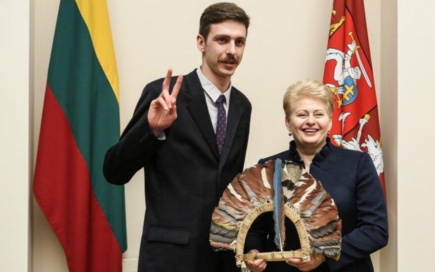 Vytautas Puidokas, Dalia Grybauskaitė