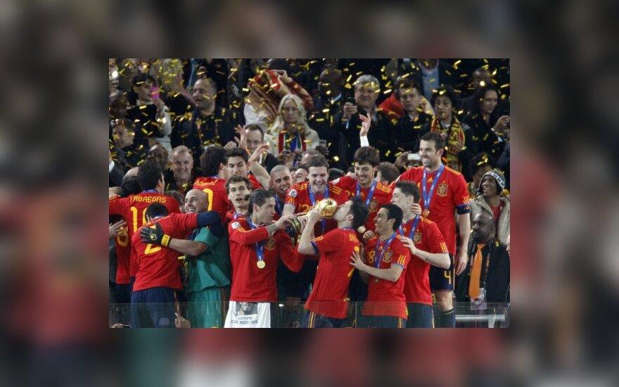 Pasaulio čempionai Ispanijos futbolininkai