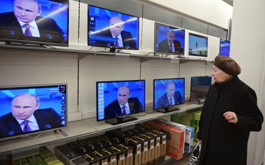 Lithuania's media watchdog suspends broadcasting of Russian TV channel
