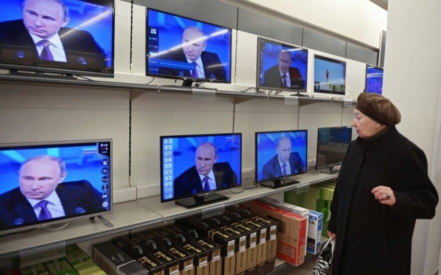 Transliacijų stabdymas Rusijos kanalų neperauklėja