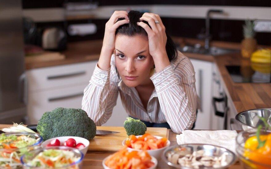 Perdėtai sveika mityba sveikatos neatnešė...