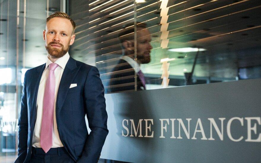 """Mindaugas Mikalajūnas, """"SME Finance"""" generalinis direktorius"""