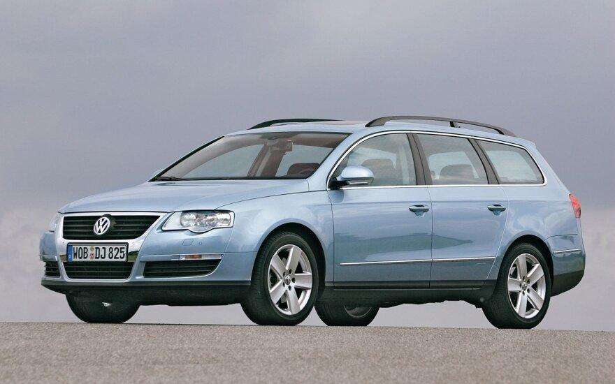 "Testo dalyvis: 2006 m. ""Volkswagen Passat Variant B6 2.0 TDI"""