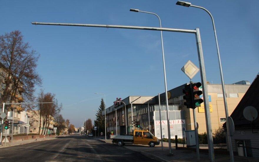 Pasipiktino Utenoje rekonstruojama gatve: ar netaps spąstais specialiajam transportui?