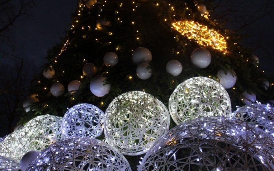 Kalėdinė pasaka Palangoje: milžiniški gintarai, stebuklingas miškas ir norai, kurie pildosi