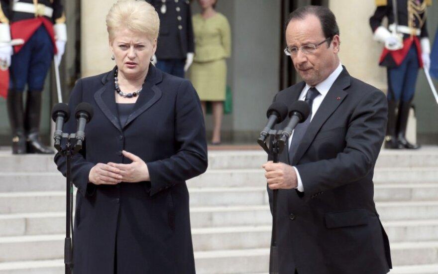 Lietuvai - JAV ir Prancūzijos sveikinimai
