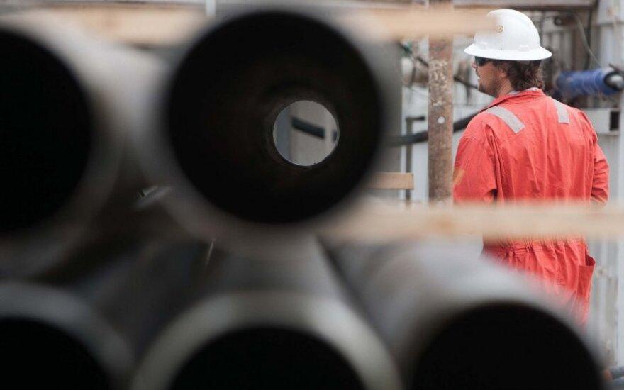 Naftos kainos kiek krinta