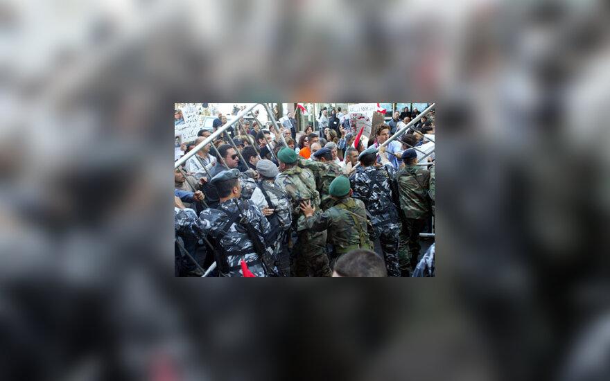 Iš Libano išvyksta Sirijos kariai