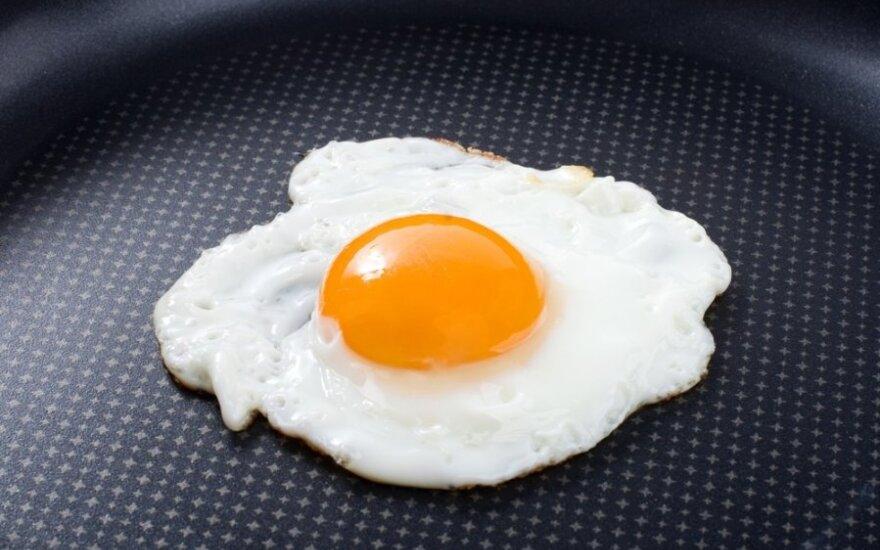Kaip atskirti šviežią kiaušinį nuo seno