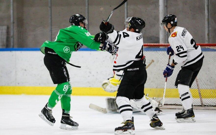 """Kovoja """"Kaunas Hockey"""" ir """"Hockey Punks"""""""