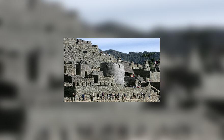Inkų miestas Maču Pikčus (Peru)