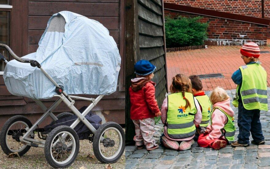 Vaikai Norvegijoje