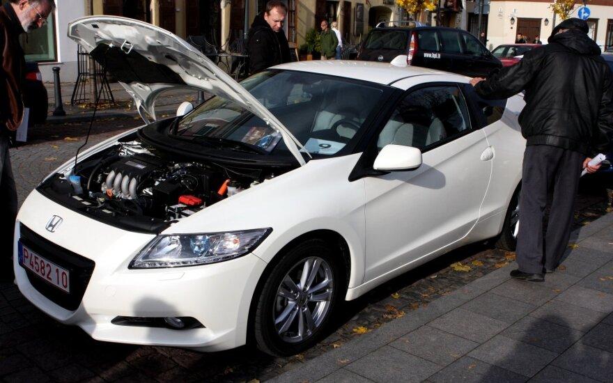 Hibridinis Honda CR-Z