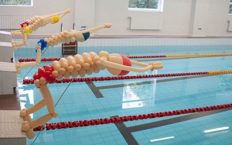 Sostinėje – nemokamos plaukimo pamokos