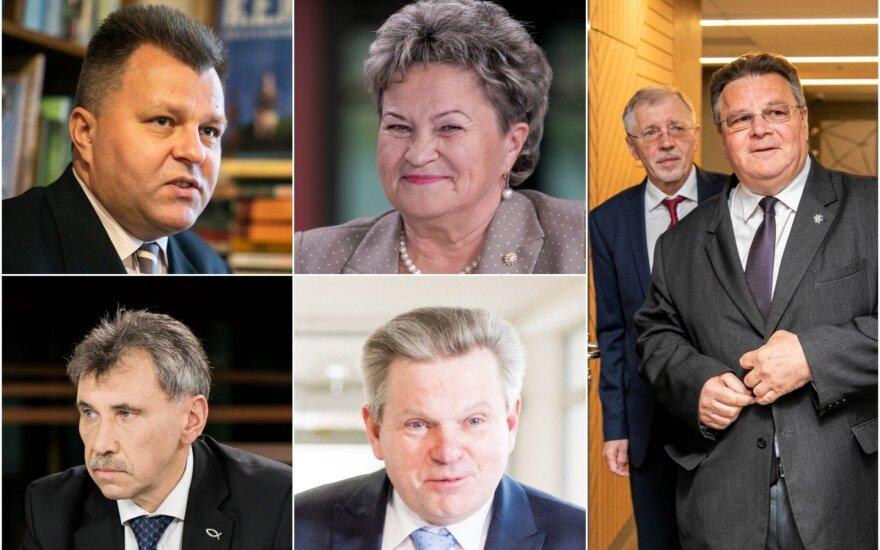 Mantas Adomėnas, Irena Šiaulienė, Jaroslavas Narkevičius, Zbignevas Jedinskis, Gediminas Kirkilas, Linas Linkevičius.