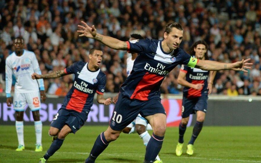Zlatanas Ibrahimovičius vėl išgelbėjo komandą