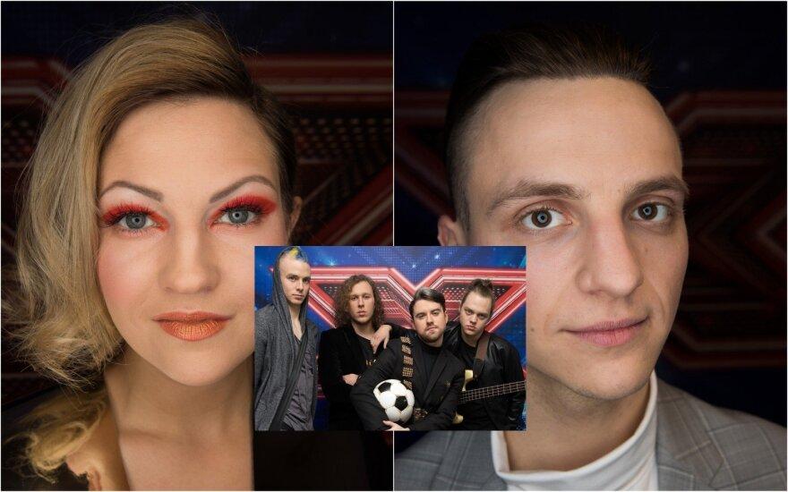 """Projekto """"X Faktorius"""" superfinalo dalyviai"""