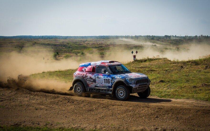 """Lenkijoje baigėsi """"Dakaro 2016"""" repeticija (Przemyslaw Budziak nuotr.)"""