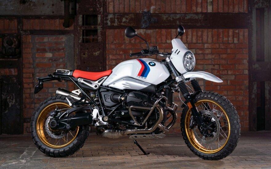 """""""BMW Motorrad"""" atskleidė penkias ateinančių metų motociklų sezono naujienas"""