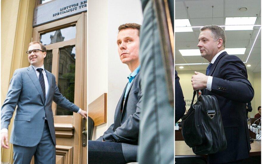 Vytautas Gapšys, Raimondas Kurlianskis and Eligijus Masiulis