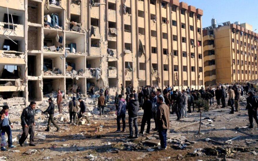 Sprogimas Alepe