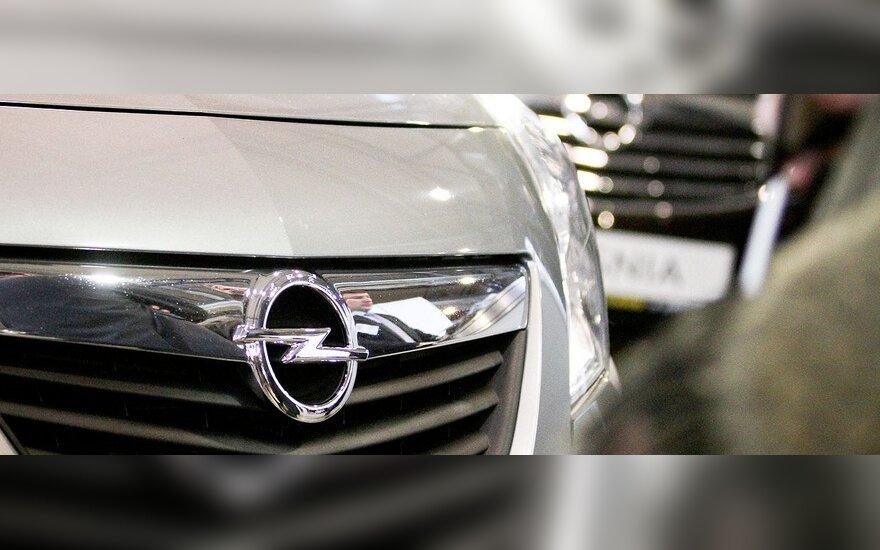 """Ar """"General Motors"""" parduos """"Opel""""?"""