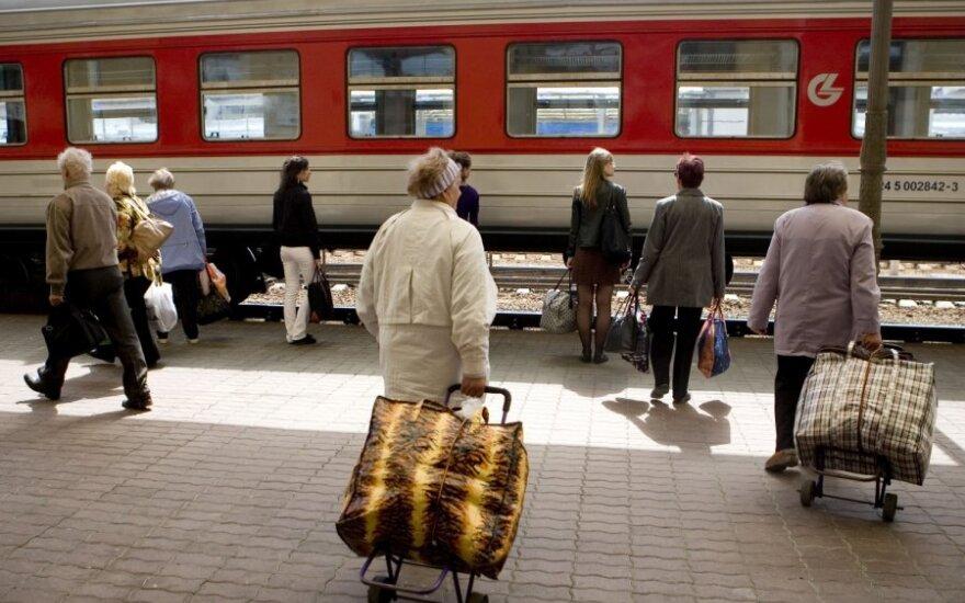 Šiemet – nauja traukinių bilietų pardavimo sistema