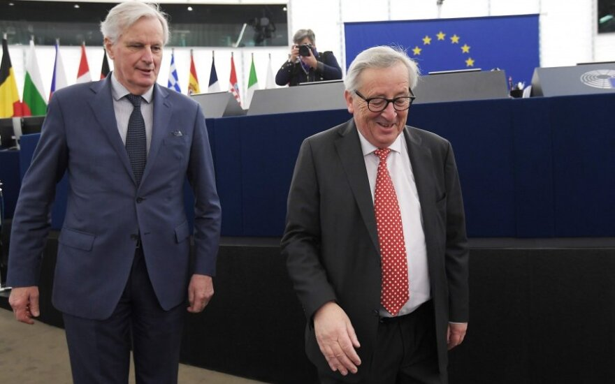 Michelis Barnier, Jeanas Claude'as Junckeris