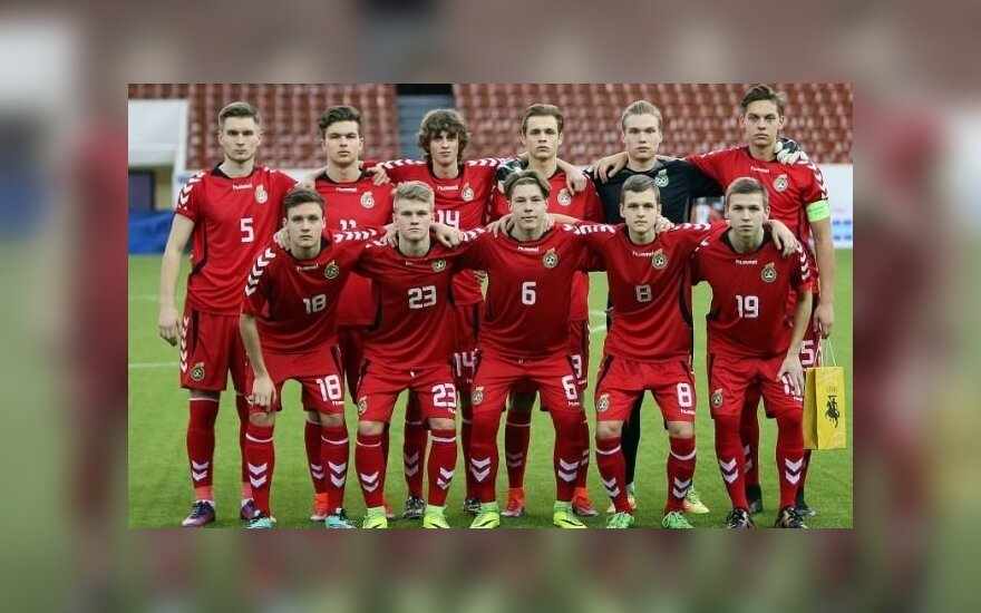 Lietuvos jaunimo U-18 futbolo rinktinė