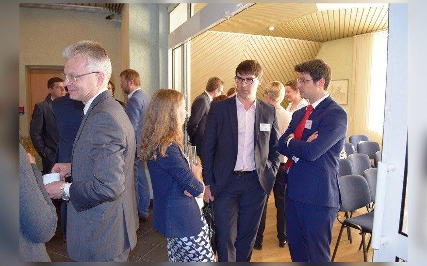 Latvijoje dirbantys lietuviai dalinosi verslo patirtimi kaimyninėje rinkoje