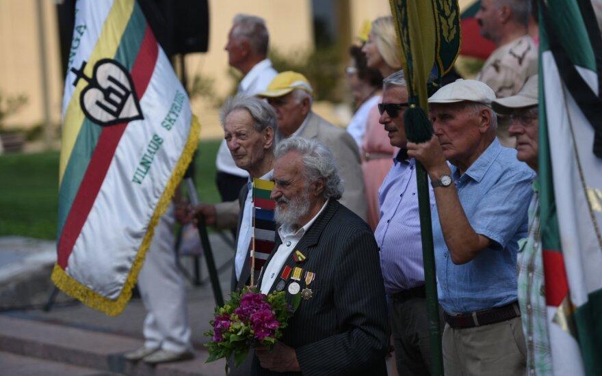 Minėjimų renginiuose dalyvaujantys senjorai