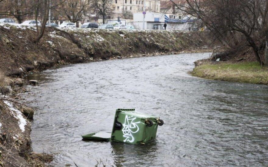 Jei užteršime vandenį, turėsime didelių problemų
