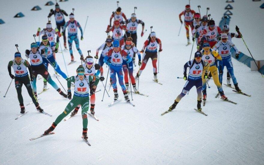 Lietuviai pasaulio biatlono taurės mišrioje estafetėje – tik 20-ti
