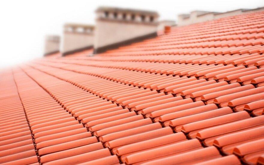 Keičiant stogą būtina užtikrinti darbų kokybę