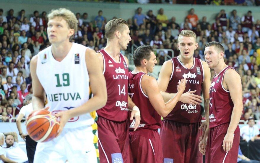 Europos krepšinio čempionatas 2015. Latvija - Lietuva