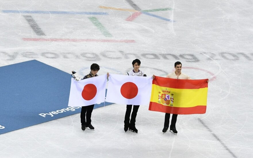 Dailiojo čiuožimo solistų varžybose – dviguba japonų pergalė