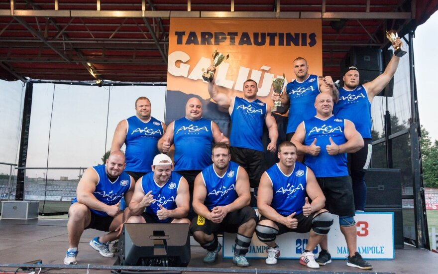 Galiūnų turnyro Marijampolėje dalyviai