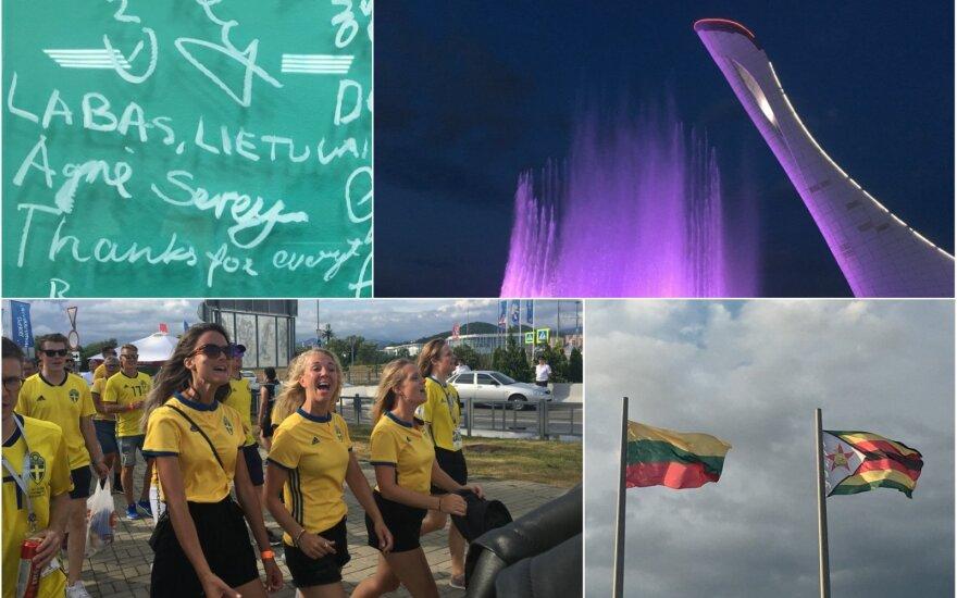 Sočis tebegyvena olimpiniais prisiminimais