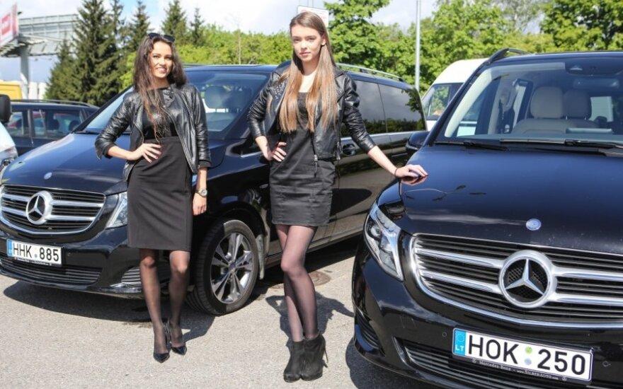 Mercedes-Benz komercinių automobilių paroda