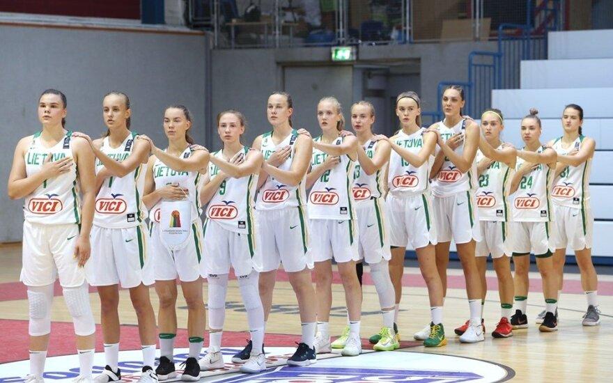 Lietuvos jaunių (U18) merginų rinktinės krepšininkės