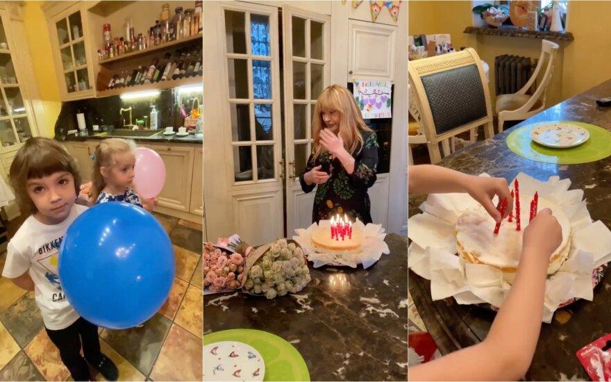 Šeima sveikina Allą Pugačiovą su gimtadieniu