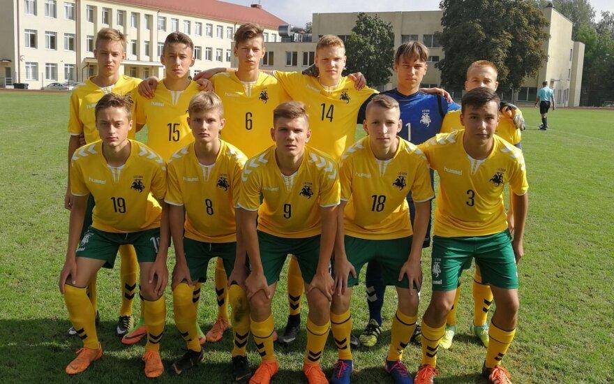 Lietuvos jauniai antrą kartą patiesė gruzinus