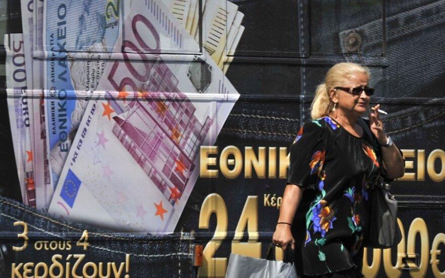 """TVF: Graikijos ilgalaikės skolos perspektyvos """"neaiškios"""""""