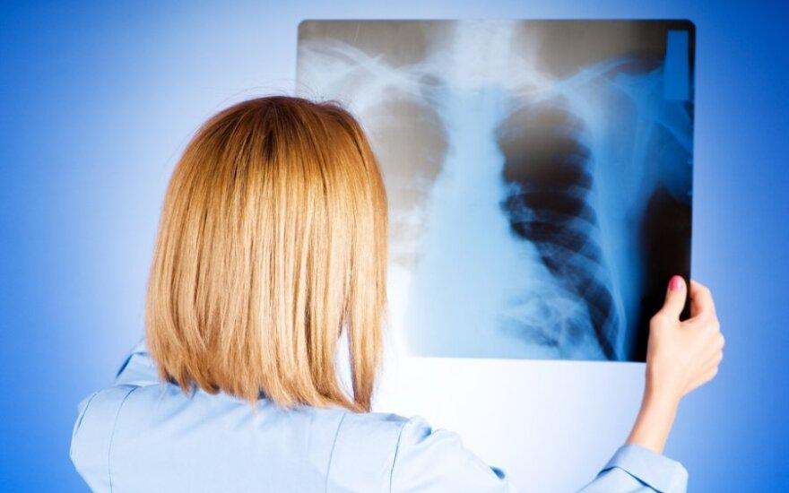 Dėl sergamumo tuberkulioze Lietuva patenka į rizikingiausių valstybių sąrašą